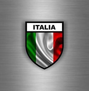 Sticker-adesivo-adesivi-tuning-auto-spartan-bandiera-italia-italiana-militare