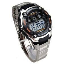CASIO MEN'S SPORTY DIGITAL BLACK WATCH AE2000WD-1AV