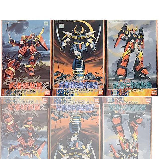 Sale BANDAI SD 1989 Vintage Collection Musha Nu Gundam Sengokuden 1 144 Set Of 3