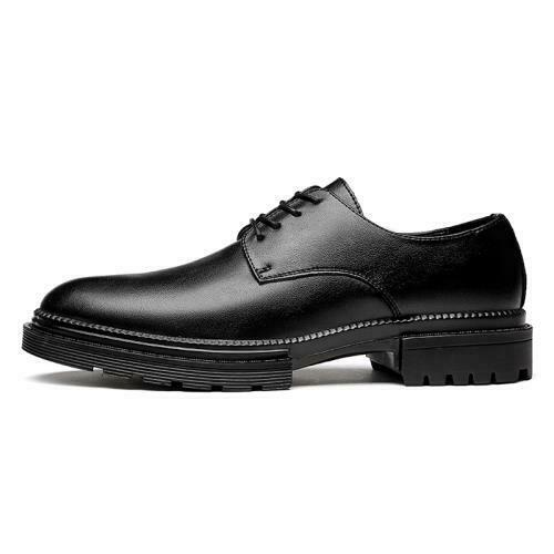Details about  /39-45 Mens Faux Leather Dress Formal Business Shoes Oxfords Lace up Pointy Toe L