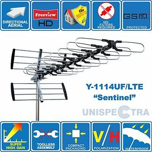 SUPER-HIGH-GAIN-4G-LTE-READY-DIGITAL-HD-TV-OUTDOOR-AERIAL-FREEVIEW-FILTER-FREE