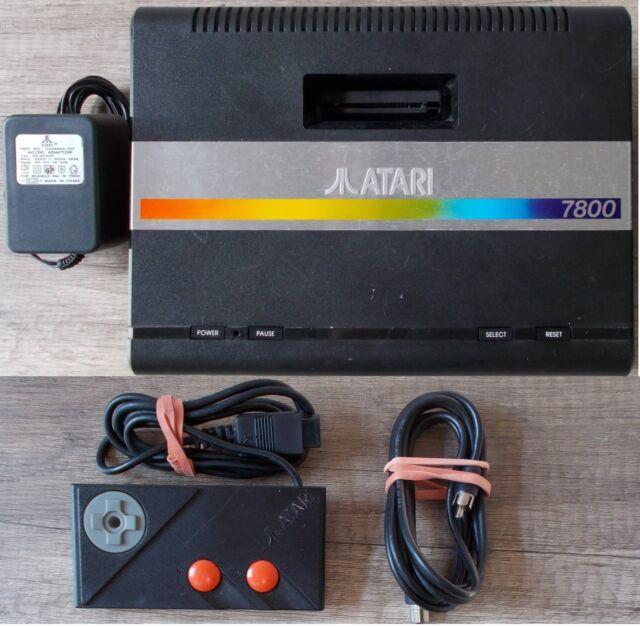 Atari 7800 ► Konsole inkl. Asteroids   Controller & Anschlußkabel ◄ Retro   TOP
