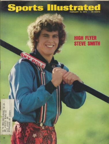 OLYMPICS POLE VAULTER STEVE SMITH 1973 SPORTS ILLUSTRATED PACIFIC COAST CLUB