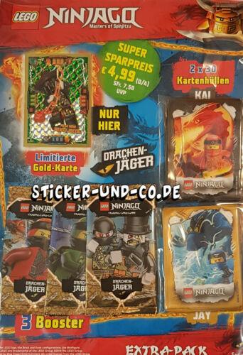 Lego® Ninjago™ Serie 4 Trading Cards Extra Pac mit LE 22 Mega Böse Heavy Metal