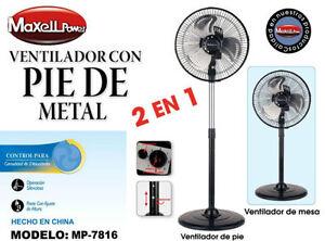 VENTILADOR-CON-PIE-DE-METAL-AJUSTABLE-3-NIVELES-VELOCIDADES-45W-SOBREMESA