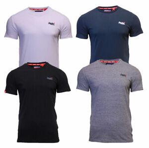 Superdry-Mens-Orange-Label-Crew-Neck-Short-Sleeve-T-Shirt-Navy-Black-White-Grey