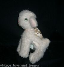 "8"" OLD VINTAGE EASTER LAMB SHEEP CUDDLE TOYS BY DOUGLAS STUFFED ANIMAL PLUSH TOY"