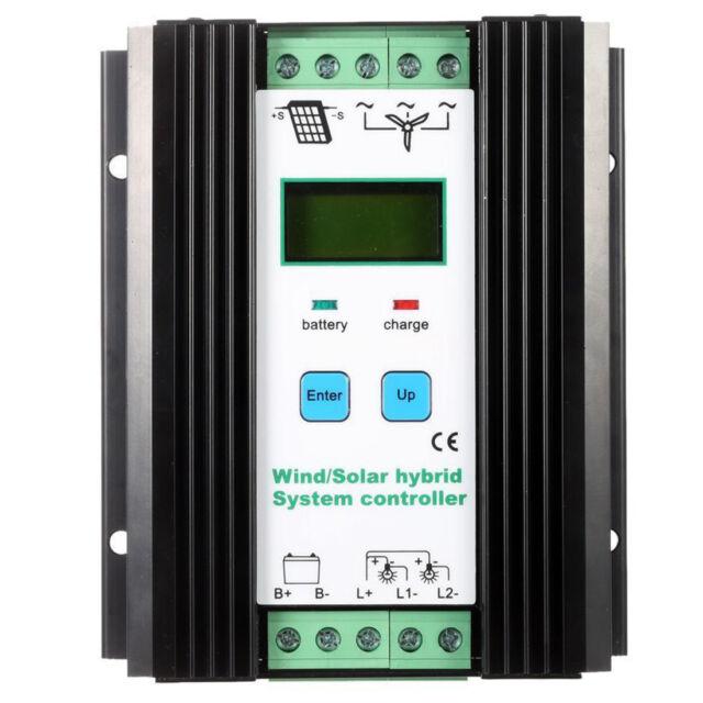 Wind&Solar Hybrid PWM Controller(600W Wind+400W Solar) 12V/24V Automatic WS M9X2
