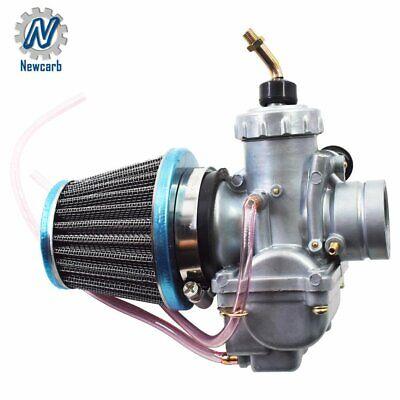 Carburetor with Air Filter For Kawasaki KX65 KX80