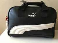 Authentic Puma Heritage Grip Weekend Tote Travel Duffle Black Gift For Him