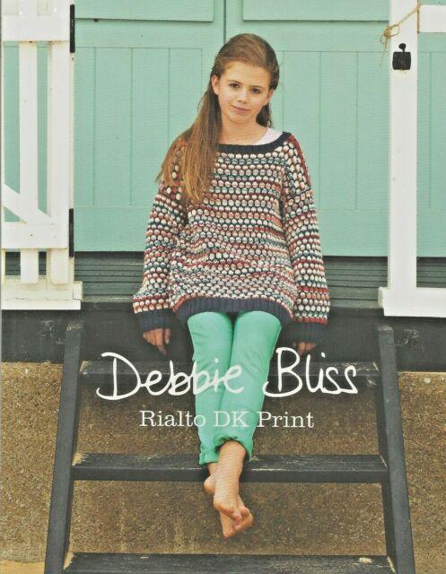Debbie Bliss Rialto Dk Print Knitting Pattern Book Ss13 For Sale