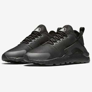 new product 9b098 aaa00 Image is loading Nike-Womens-Air-Huarache-Run-Ultra-Trainers-Triple-