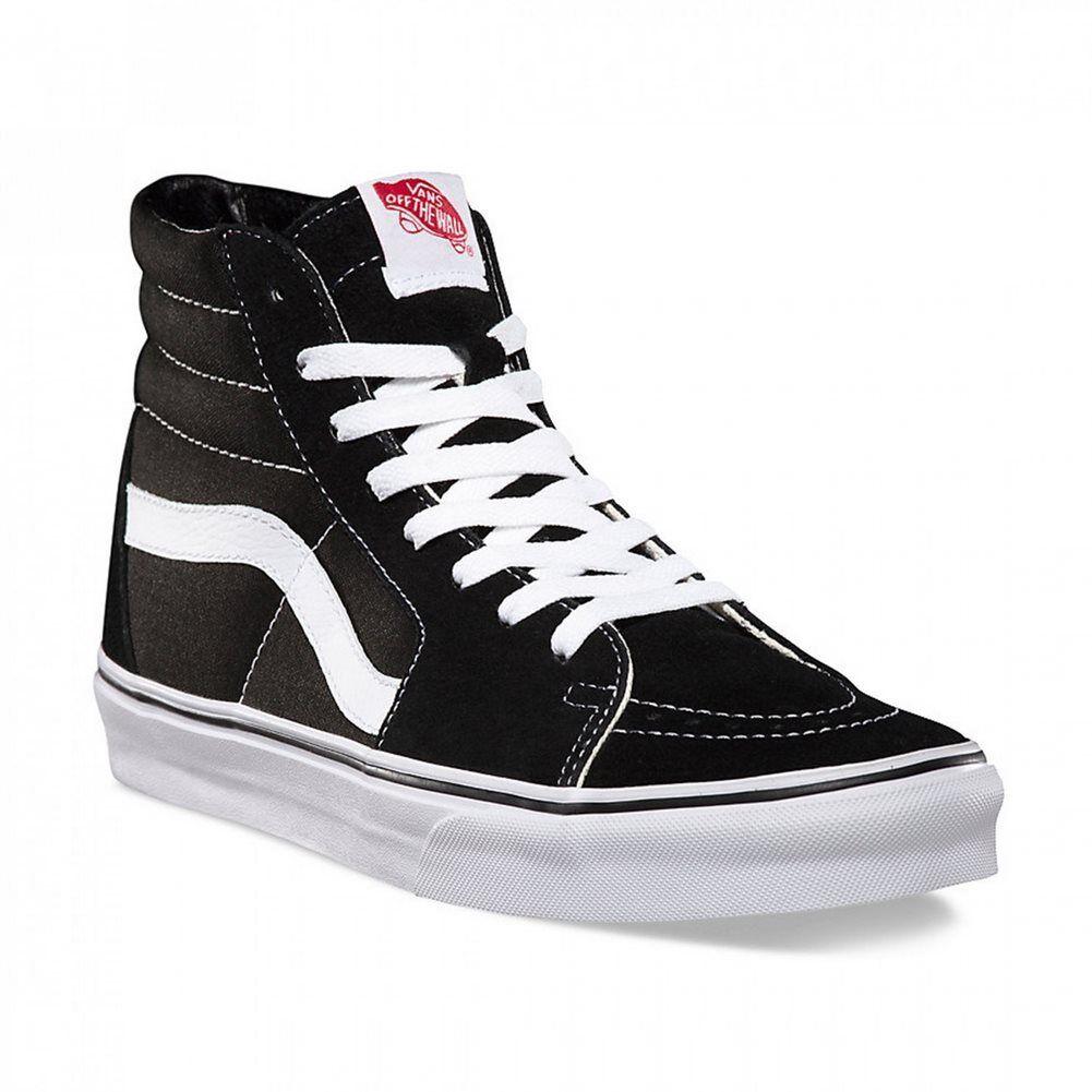 Billig gute Qualität VD5IB8C_Vans Schuhe – SK8-Hi schwarz/schwarz/weiß_2017_Herren_Leder_Nuevo