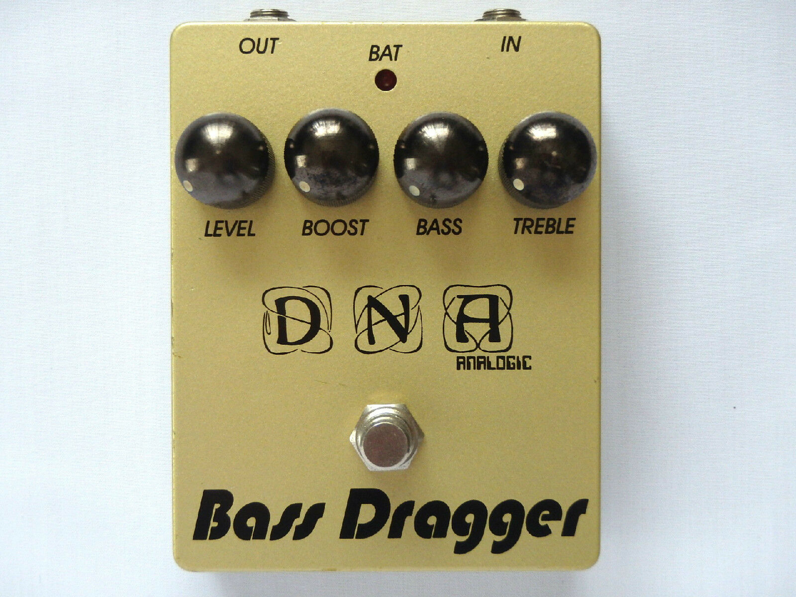 DNA Analogic Bass Dragger 60th Anniversary Edition Bass Guitar Effect Pedal