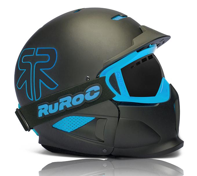 Ruroc Nero RG1X Casco Da SciSnowboard  201415  Nuovo di zecca gamma