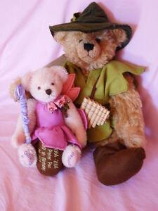 Künstlerteddys Bären Bears PETER PAN   GLÖCKCHEN TINKERBELL Hermann Coburg
