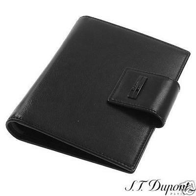 S.T Dupont St Germain Leather 6 Credit Card Wallet