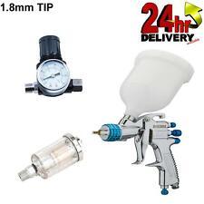 Devilbiss Slg 620 18mm Spray Gun Gravity Feed With Gauge Amp Filter