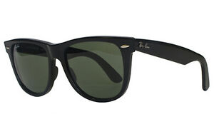 RAY BAN 2140 54 WAYFARER 901 SHINY BLACK SUNGLASSES SUNGLASSES BLACK ... 9e0efd9e7e