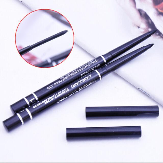 Waterproof Rotary Gel Cream Eye Liner Black Eyeliner Pen Makeup Cosmetic  Dxyc