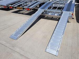 Details About Recovery Truck Car Transporter Aluminium Loading Ramps 240cm X 34cm