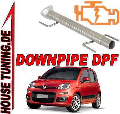 Tubo Rimozione FAP DPF Downpipe Fiat Panda 1.3 Mjet JTD 75 cv Euro5 T5F