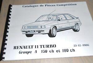 Catalogue-Renault-Sport-Renault-11-Turbo-Gr-A