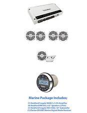 Rockford Fosgate M600-5, (4) RM1652, (1) RM110D2  & Marine Digital Media Rcvr