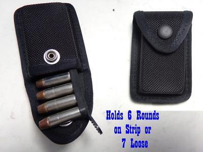 2 Lot RJZ G/&G Firm Nylon Gun Ammo Cartridge Case 38//357 Hold 6 on Strip 7 Loose