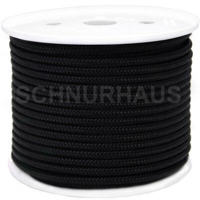 Polyesterseil Polyester Seil 12mm 30m Weiß Geflochten PES Tauwerk Leine