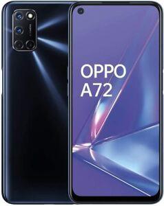 Oppo A72 Dual Sim Smartphone CPH2067 128GB Twilight Black Neu in White Box