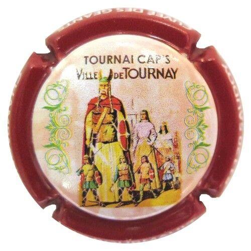 TOURNAI CAP/'S 0105 Récoltant BOURMAULT Luc 11e CAPSULE DE CHAMPAGNE