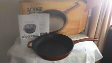 Lodge Color Enameled Cast Iron Skillet -Red- 11 inch