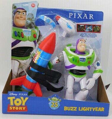 Pixars Toy Story 25th Anniversary Buzz Lightyear /& Trixie Dinosaur Action Figure