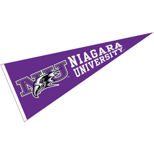 "Niagara Purple Eagles Wool 12/"" x 30/"" Raised Printed Pennant"