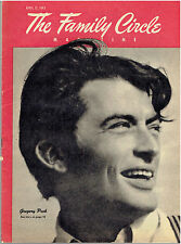 The Family Circle Magazine - April 13, 1945 Vol. 26, No. 14 - Gregory Peck