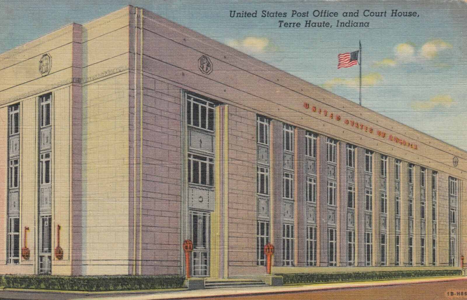 TERRE HAUTE, Indiana, 30-40s ; Post Office & Court House