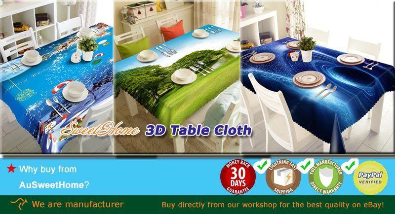 A Dream Tiger 3D Tablecloth Table cover Cloth Rectangle Wedding Wedding Wedding Party Banquet 761ae4