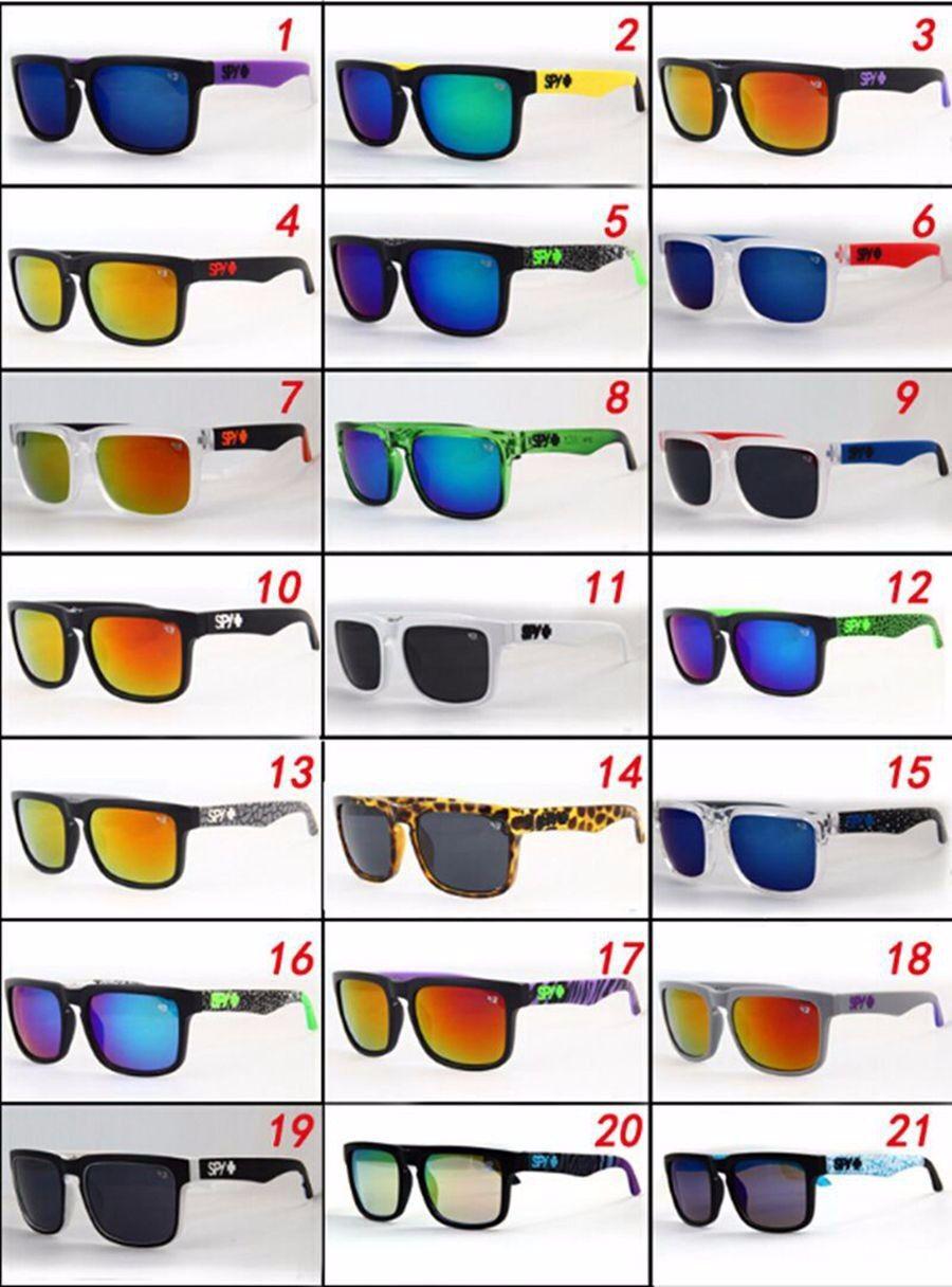 2019Neu UV400 SPY Unisex Sonnenbrille Sport Radfahren Strand Urlaub Herren Damen