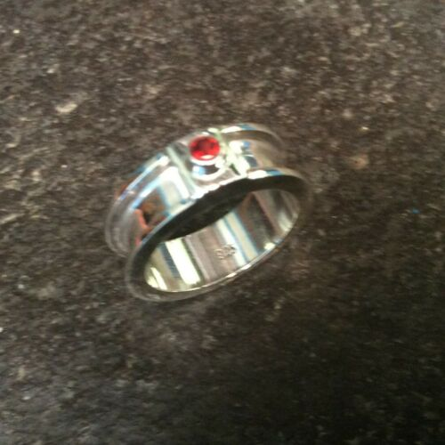 Sterling silver channel ring 2 x 1.5 x 4.0 mmEquestrian Horsehair Rings