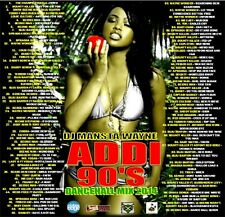 REGGAE DANCEHALL 90'S MIX CD