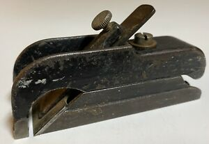Stanley-Bull-Nose-Rabbet-Plane-Vintage-Woodworking-Tool-Made-In-USA-Used