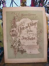 Partition Fête du village par Jean Switten pour Piano