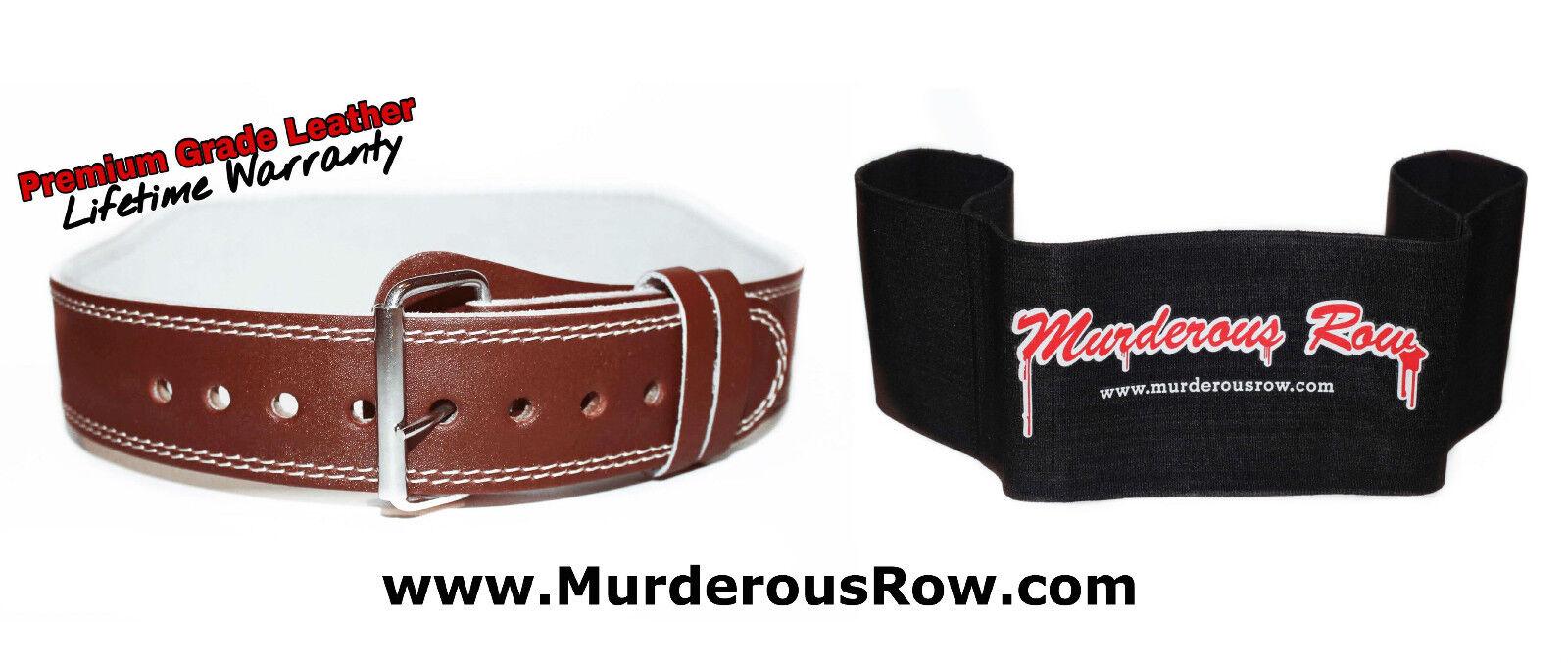 Murderous Row Bench Press Belt (Medium)+ Murderous Row Sling Shot (XL) -ULTIMATE
