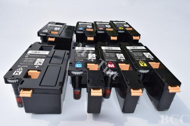 8 x Toner For Fuji Xerox CP215 CP215W CM215f CM215fw CM215b CP105b CP205 CM205fw