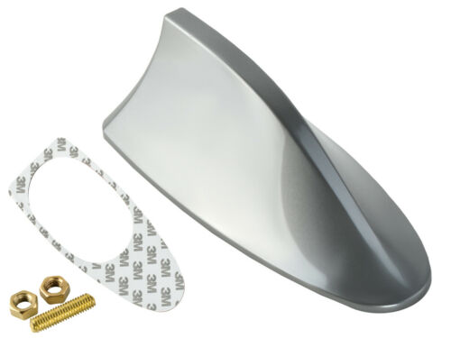 Shark Auto Hai Dach Stab Antenne Fuß Sockel Radio Set Universal Silber VW SEAT