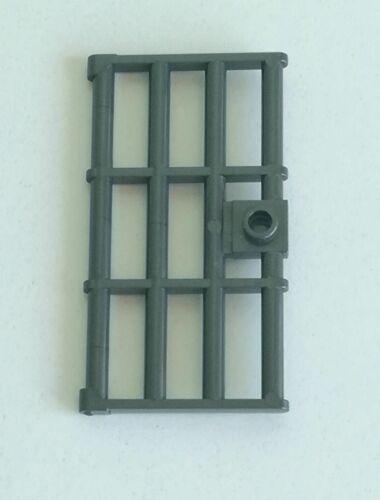 LEGO 1x Porta Sbarrata Prigione Con Maniglia 1x4x6 GRIGIO SCURO PERLA 60621