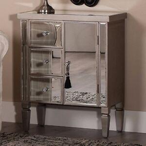Mirrored Sideboard Cabinet Furniture Vintage Venetian 3