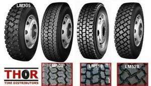 11R24.5 11R 24.5 11 R 22.5 DRIVE TRAILER & STEER TRUCK TIRES NEW - LONGMARCH LOWEST PRICE IN THE REGION -  BUY DIRECT Swift Current Saskatchewan Preview