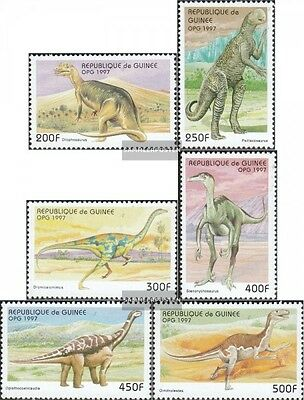 Never Hinged 1997 Prehistori complete.issue. Unmounted Mint Gentle Guinea 1709-1714